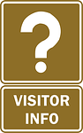 Visitor Info Sign